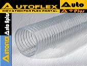 FLEXIBLE PVC SPIRAL STEEL WIRE REINFORCED HOSE OR FLEXIBLE PVC SUPER SUN SPRING HOSE